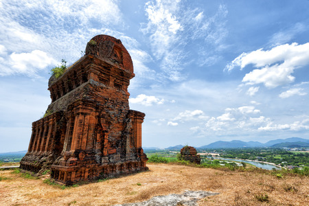 qui: Banh It Tower Stock Photo