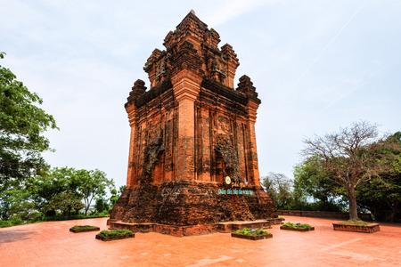 Cham tower in Phu Yen, Vietnam