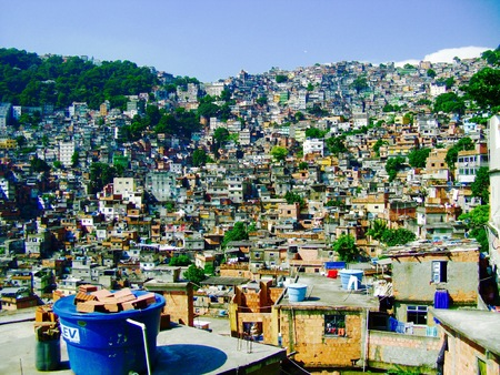 Rio Slums Stock Photo - 90124677
