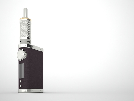 mod: Battery mod with tank rebuildable. High quality render Stock Photo