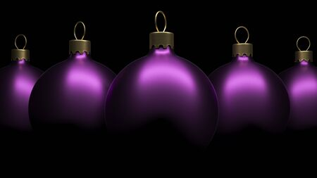 christkind: Christmas ornament  balls. High quality 3d render