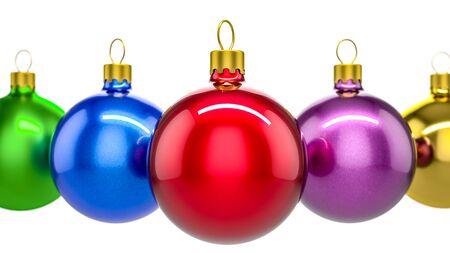 christkind: Christmas ornament  balls. High quality 3d render