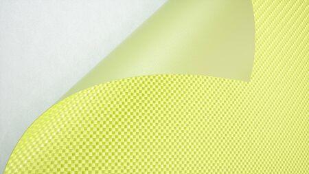 Green Car Wrapping Film Roll Hintergrund. 3D-Rendering Standard-Bild