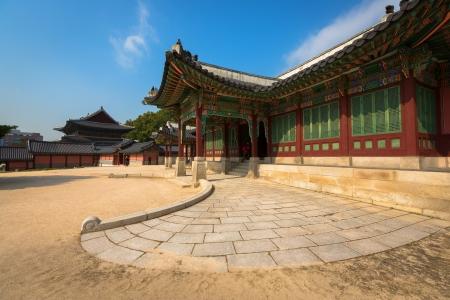 south korea: In Changgyeonggung Palace, Seoul, South Korea