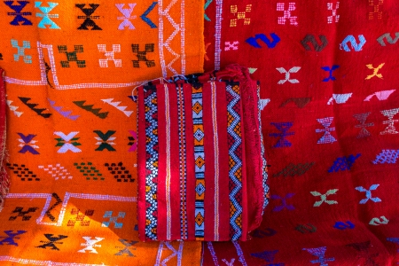 Traditional Moroccan rugs photo