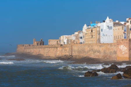 windy city: Ver a Essaouira, que es una ciudad tur�stica y con viento en la regi�n occidental de Marruecos, en la costa atl�ntica.