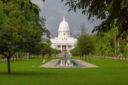 Das Rathaus von Colombo ist der Sitz der Colombo Stadtverwaltung und das Büro des Bürgermeisters von Colombo. Standard-Bild