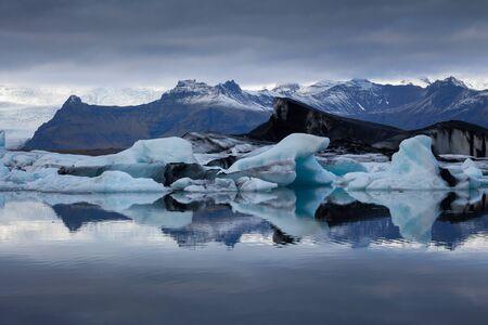jokulsarlon: Jokulsarlon is a large glacial lake in southeast Iceland on the borders of Vatnajokull National Park