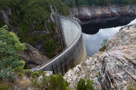 tasmania: Gordon Dam, Tasmania, Australia