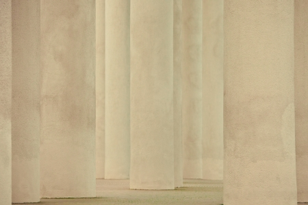 The row of classical columns Stock Photo - 17969351