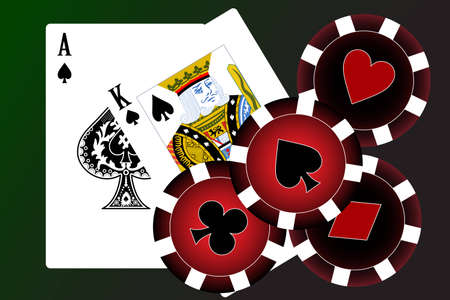 royal house: Set of playing cards. To see similar please visit my gallery.