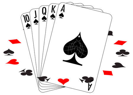 Set of playing cards. To see similar please visit my gallery. Stock Vector - 4468357