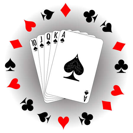 Set of playing cards. To see similar please visit my gallery. Vector