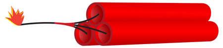 banger: Dynamite or firecracker.