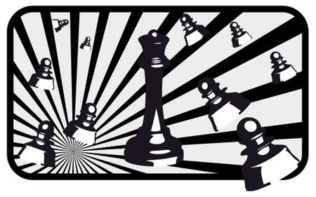 Design of vector illustrations of chess Stock Vector - 5492452