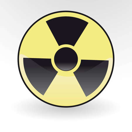 radioisotope: Collection of vector illustrations of radiation Illustration