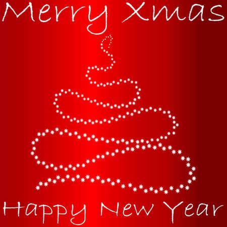Cute Frame With Xmas And New Year Symbols Cute Xmas Tree Made