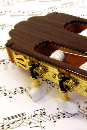 e guitar: Guitar with music part