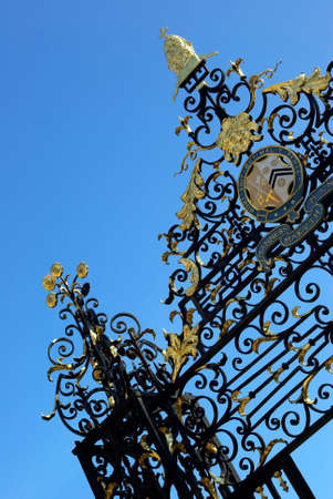 Detail view of an antique fancy fence. Stock Photo - 3769820