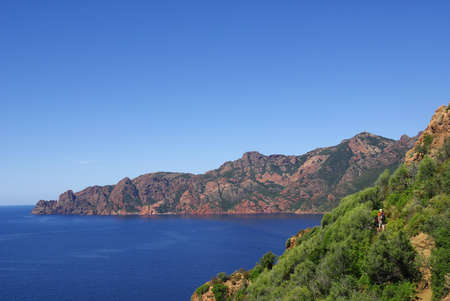 Image of Piana calanques in Corsica photo