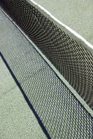 Typical tennis court net Stock Photo - 10845096