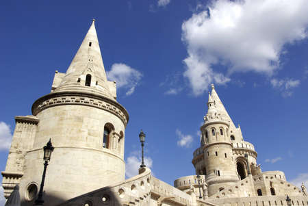castle district: Image of Fisherman bastion in Budapest