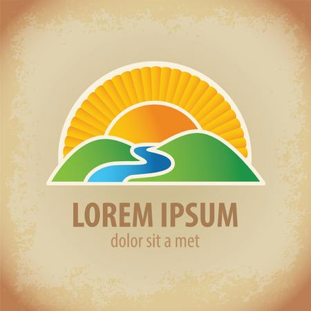 landscape symbol and icon
