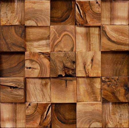 Holzbausteine ??für die nahtlose Hintergrund gestapelt Standard-Bild