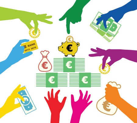 Creating common property in Euros Vector