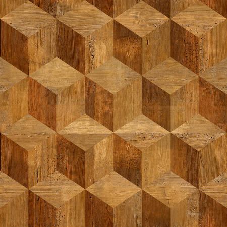 Wooden parquet blocks rosewood stacked for seamless background