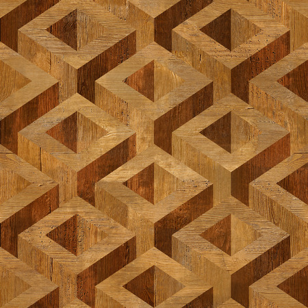 Wooden parquet boxes stacked for seamless background. rosewood veneer photo