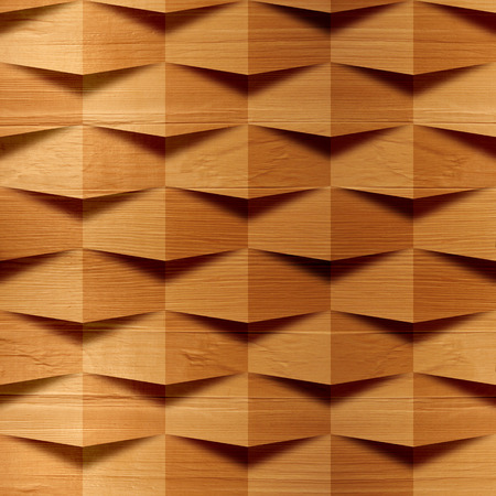 Wooden blocks stacked for seamless background, veneer alder Banco de Imagens