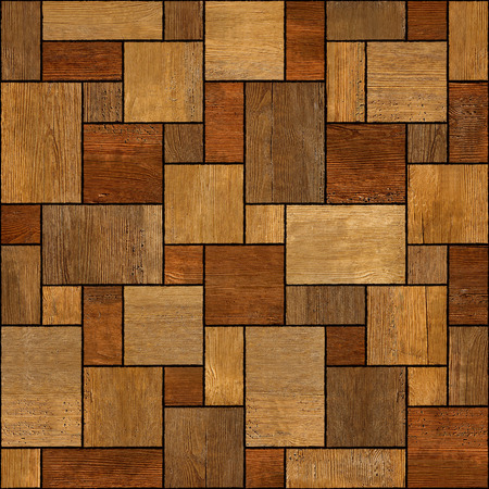 Wooden rectangular parquet stacked for seamless background. rosewood veneer photo
