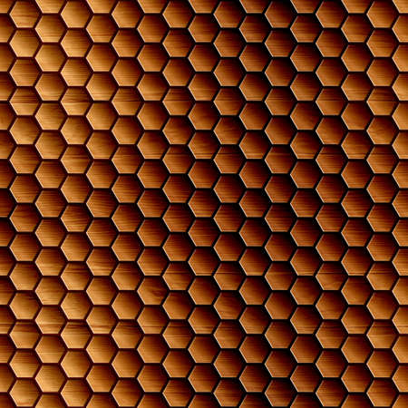 Abstract wooden grid - seamless background photo
