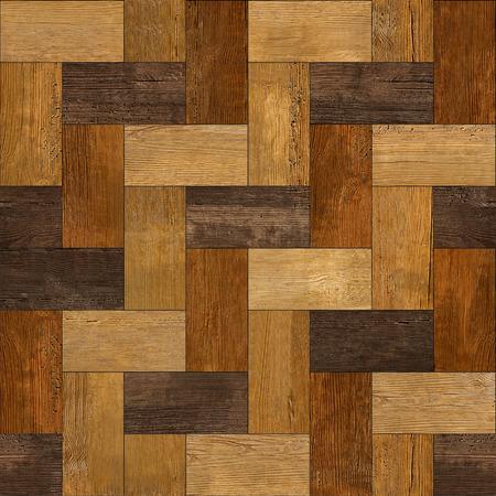 Parquet rectangular de madera apilados para el fondo sin fisuras