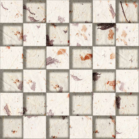 Paper blocks stacked for seamless background photo
