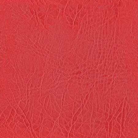 seamless red leather texture for background Stock Photo