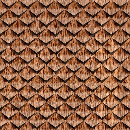 Abstract clippings stacked for seamless background, cork veneer