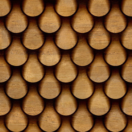 Abstract clippings stacked for seamless background, walnut veneer