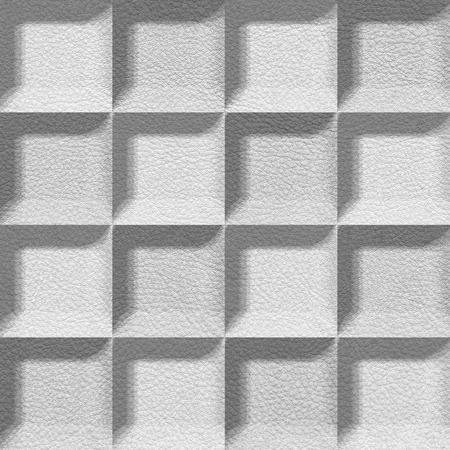 imitation leather: Abstract piastrelle impilati per sfondo trasparente, similpelle
