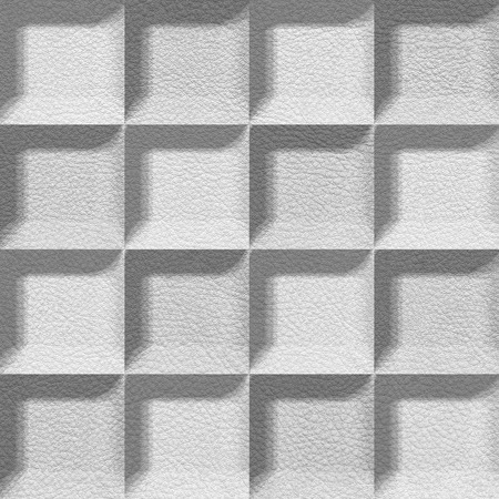 imitation leather: Abstract tiles stacked for seamless background, imitation leather Stock Photo