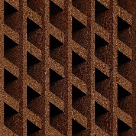 imitation leather: Abstract paneling blocks stacked for seamless background, imitation leather Stock Photo