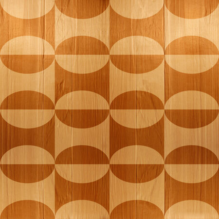 Abstract paneling pattern seamless background - wooden texture