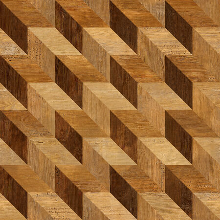 Abstract paneling pattern seamless background - wood texture photo