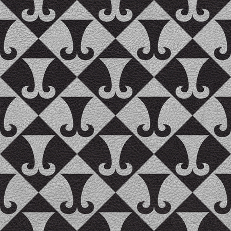 Abstract paneling pattern - seamless background - hipster symbol photo