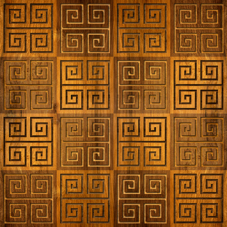 paneling: Abstract paneling pattern - seamless background - wood paneling