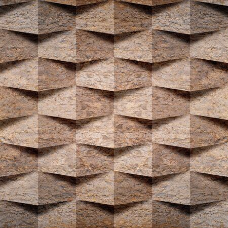 paneling: Abstract paneling pattern - seamless background - stone pattern Stock Photo