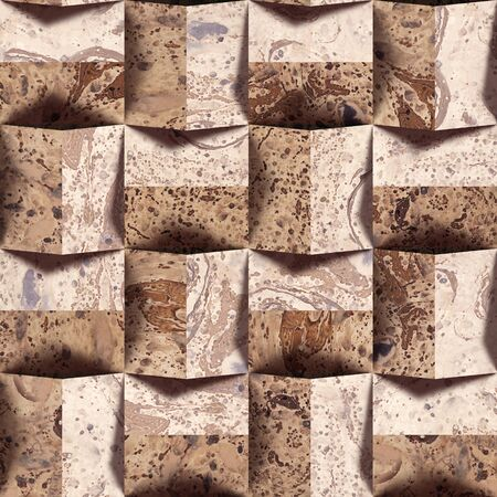 paneling: Abstract paneling pattern - seamless background - Handmade paper