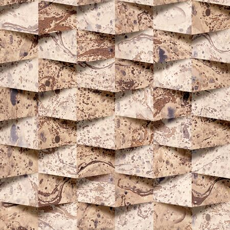 paneling: Abstract paneling pattern - seamless background - paper surface Stock Photo