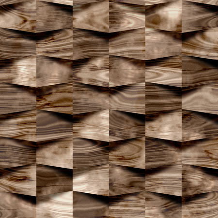 veneer: Abstract paneling pattern - seamless background - wooden surface